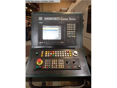 MONFORTS UNICEN 500 L CNC Turning- and Milling Center
