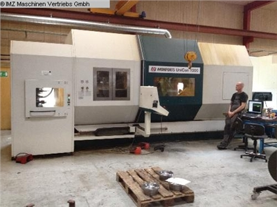 MONFORTS UNICEN 1000  CNC Turning- and Milling Center