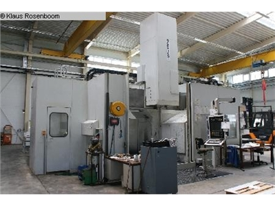 DOERRIES VCE 2400 MCFV Vertical Turret Lathe - Double Column