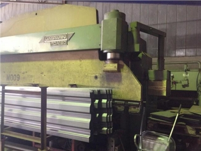 Hydraulic edging presses Gasparini PDA 160