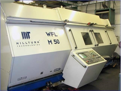 CNC Turning- and Milling Center WFL Millturn M 50