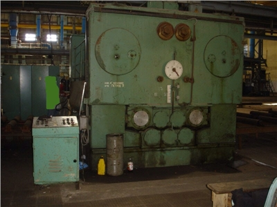 Sheet straightening machine VEB Blema Gotha UBR 16x2500