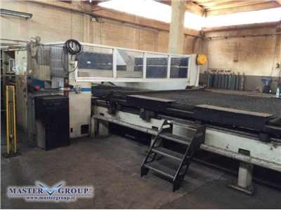 LVD IMPULS 8031 USED CO2 LASER CUTTING MACHINE WITH PALLET CHANGER