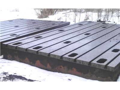 Floor Plates in cast iron 2750 x 5000 mm