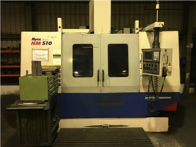 CNC Vertical Machining Center DOOSAN mod. NM510