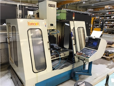 CNC Vertical Machining Center EUMACH MC-800 P
