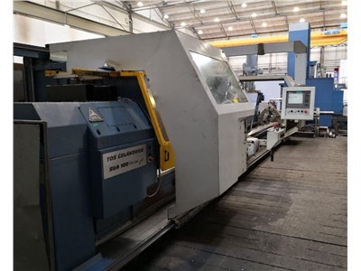 TOS SUA 100 variant  Lathe - cycle-controlled