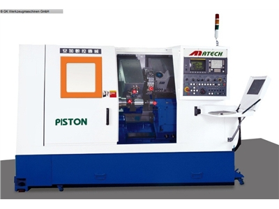MATECH Piston Turner C  CNC Turning- and Milling Center